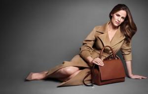 Jennifer Garner per Max Mara campagna pubblicitaria accessori autunno inverno 2013-2014
