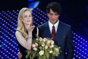 Nicole Kidman e Gabriel Garko a Sanremo 2016