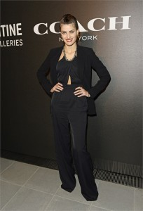 Isabeli Fontana all'evento Coach x Serpentine Galleries