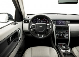 Land Rover Discovery Sport - interni