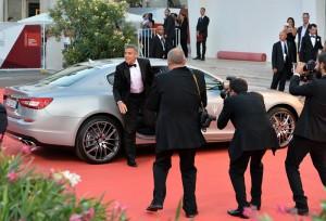 George Clooney al Festival del Cinema di Venezia 2013