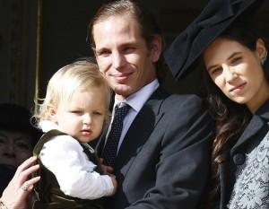Andrea Casiraghi e Tatiana Santo Domingo hanno dato alla luce una bambina