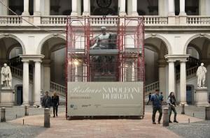Il restauro del Napoleone di Canova