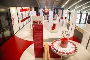 I Colori del Rosso alla Galleria Campari