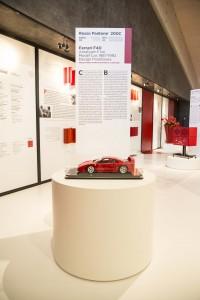 Ferrari alla Galleria Campari