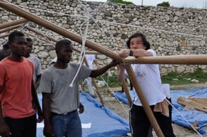 Shigeru Ban ad Haiti