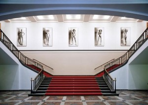 Lobby della Helmut Newton Foundation