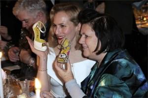Charlotte Olympia e Suzy Menkes, party Parigi Fashion Week