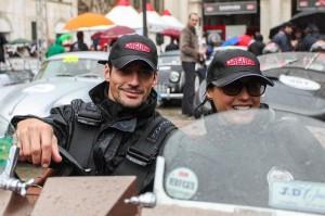 David Gandy e Yasmin Le Bon