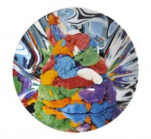 Piatti Play-Doh di Jeff Koons