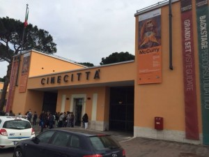 Steve McCurry a Cinecittà