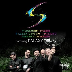 Samsung Galaxy Tab S con i Susbsonica