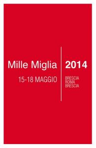 Mille Miglia 2014