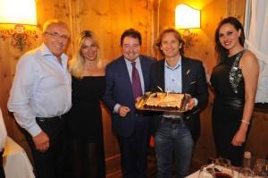 Jarno Trulli festeggia i suoi 40 anni