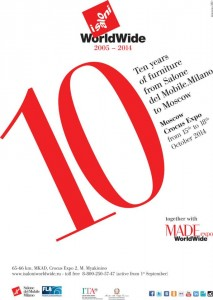 I Saloni WorldWide Moscow compiono 10 anni