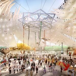 Al Wasl Plaza, cuore di Expo 2020