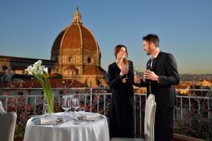Terrazza dell'Hotel Brunelleschi