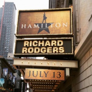 Il musical Hamilton a teatro