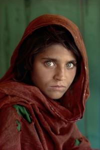 Ritrato di ragazza afgana