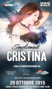 Cristina D'Avena a Lucca Comics 2015
