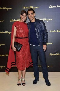 Pennetta e Fognini alla Milano Fashion Week
