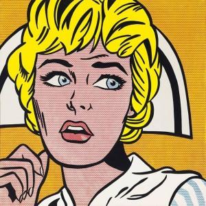 """""""Nurse"""" di Roy Lichtenstein"""