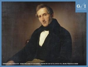 Ritratto di Manzoni di Hayez