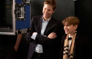 Christopher Bailey e Romeo Beckham