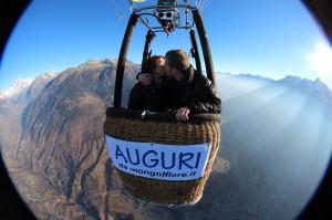 San Valentino 2016 in mongolfiera