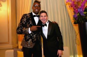 Pgba in Dolce&Gabbana e Messi in Armani