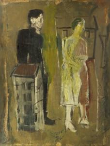 Mario Sironi, Figure e case