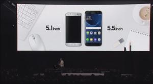 Displey nuovi Galaxy S7