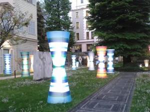 Fili di Luce di Luca Trazzi