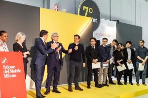 Roberto Snaidero e Matteo Renzi al Salone del Mobile 2016