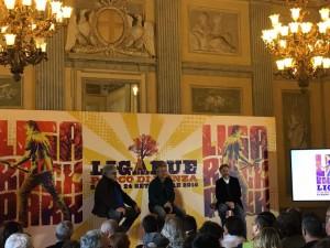Luciano Ligabue alla Villa Reale di Monza