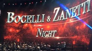 Bocelli and Zanetti Night