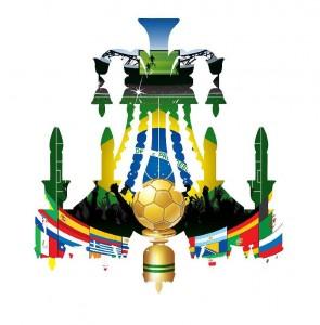 "Lampadario Baccarat reinterpretato per la mostra ""Bola Brasil"""