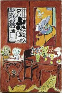 Grande interno rosso, © Succession H. Matisse by SIAE 2015