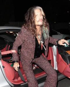 Steven Tyler alla festa di Johnny Depp e Amber Heard