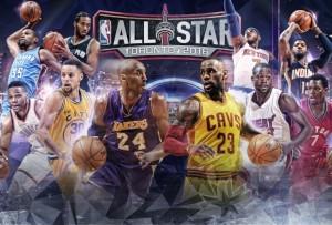 I titolari degli NBA All-Star Game 2016