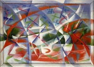 Giacomo Balla, Abstract Speed + Sound, 1913–14