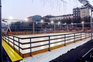 Pista di ghiaccio in Darsena