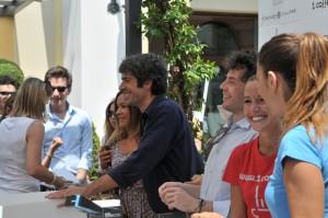 Luca Argentero al Fidenza Village