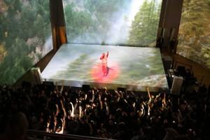 Kanye West, concerto alla Foundation Louis Vuitton