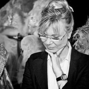 Antonia Sautter a lavoro per il Ballo del Doge 2017