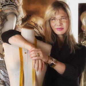 Antonia Sautter in atelier