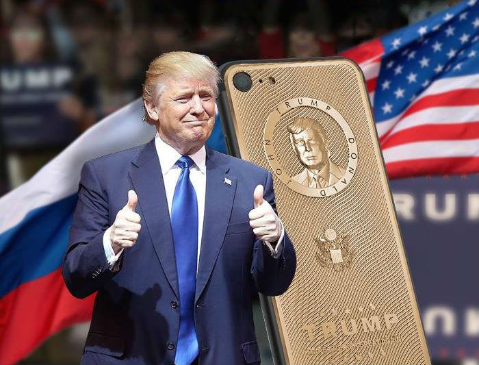 Trump-iPhone