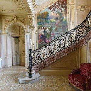 Interni, Château d'Aubiry - Francia