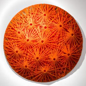 Emilio Cavallini, Orange Linear Fractal 2010