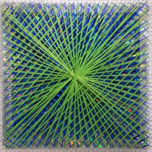Emilio Cavallini, Rainbow Catastrophic Bifurcation green 1998